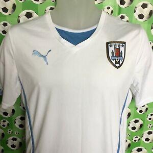 SMALL 14 - 16 URUGUAY Away Football Shirt