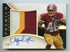 2014 IMMACULATE ALFRED MORRIS PREMIUM 3-COLOR PATCH AUTOGRAPH TRUE 1/1 REDSKINS