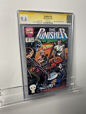 🔑The Punisher #33 vs. Reavers from X-men. White Pages CGC 9.6 Signed Netflix 🔥