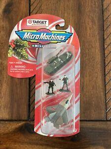 Vintage Micro Machines 1998 Military Set Target Exclusive