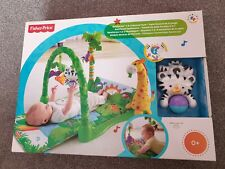 Fisher Price Rainforest 1-2-3 Musical Gym New & Sealed