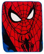 Spiderman 'Identity' Coral Panel Fleece Blanket Throw Brand New Gift