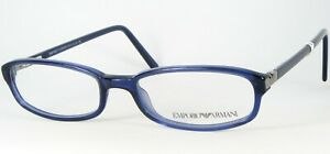 Emporio Armani EA 658 223 BLUE EYEGLASSES GLASSES FRAME 51-17-135mm Italy