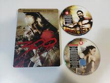 300 EDICION COLECCIONISTA - 2 X DVD + EXTRAS STEELBOOK ESPAÑOL ENGLISH