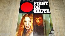 johnny hallyday  POINT DE CHUTE ! scenario dossier presse cinema 1970