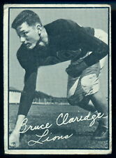 1961 TOPPS CFL FOOTBALL #2 BRUCE CLARIDGE VG-EX B C LIONS WASHINGTON HUSKIES