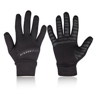 Higher State Unisex Running Gloves - Black Sports Breathable Reflective
