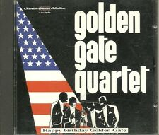 CD - Golden Gate Quartett - Happy birthday Golden Gate  (15 Songs) CCC Rec.