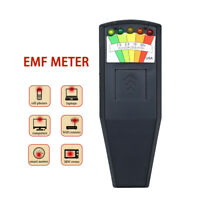 5 LED EMF Meter Magnetic Field Detector Ghost Hunting Paranormal Equipment NEW