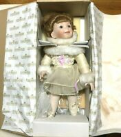 Porcelain Doll My Little Ballerina Doll Ashton Drake Galleries COA 1994 Collect
