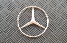 OEM Mercedes Body/Dash Emblem. 11.5cm