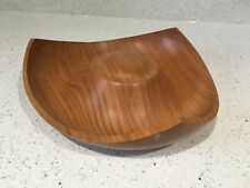 Contemporary Wooden bowl bent wood