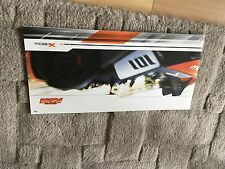 KTM X-BOW  BROCHURE.    A4 length pages