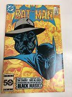 Batman (1985) # 386 (NM) 1st Black Mask !!