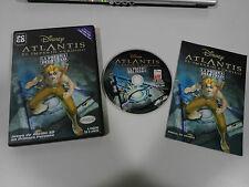 ATLANTIS EL IMPERIO PERDIDO JUEGO PC ESPAÑOL CD-ROM DISNEY INTERACTIVE