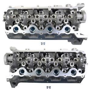 2 PCS New Cylinder Head LH + RH For Ford F150 F250 F350 Explorer 4.6L 5.4L 3V
