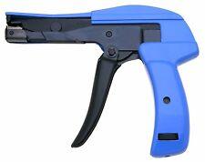 "Nylon Cable Tie Gun Installation Tensioning Fastener Plastic Zip Cutting 7"""