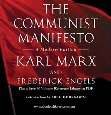 CD - Communist Manifesto - Karl Marx - Sight Impaired, Blind  - Audio + 70 eBook