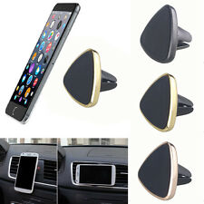 For Phone GPS Black Universal Magnetic Car Air Vent Holder Mount Cradle Stand