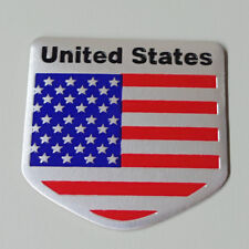 Us Usa America Flag Sticker Universal Emblem Auto Car Decal Badge Metal 3D Logo(Fits: 2005 3)