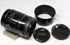 Very good MINOLTA AF 100mm f/2.8 f2.8 Macro New type Lens for Sony A Mount