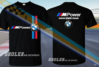 NEW POPULAR BMW T-SHIRT BMW M POWER RACING SPORT EDITION T-SHIRT