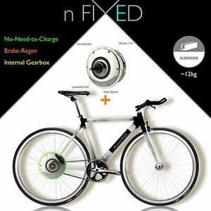"""nFIXED """"Electric Panda"""" ZEHUS BIKE+ (No-Need-to-Charge)"""