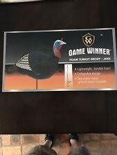 Game Winner Foam Turkey Decoy-Jake New