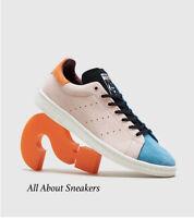 Adidas Stan Smith Taille 44 Blanc Bleu Cyan ( Ftw White