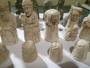 Medieval Dragon Hunt Chess Set Pieces (no board)