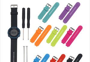 Silicone Watchbands for Garmin Forerunner 220 230 235 630 620 735XT Watch Strap