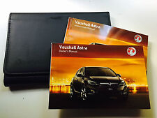 VAUXHALL ASTRA Owners handbook Manual Pack New Genuine Later shape from 2010