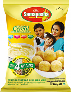 """""""Samaposha"""" Cereal Based Nutritious Supplement Healthy 200g Packet"""