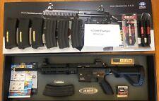New listing Tokyo Marui HK416 NGRS AEG with 7 magazines