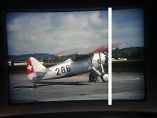 military aircraft slide Swiss Air Force Dewoitine D-27 286 Dubendorf 2002 (tnw)