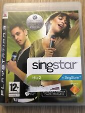SINGSTAR HITS 2 PLAYSTATION 3 PS3 FRANÇAIS COMPLET VF FR