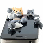 Creative 1Pc Cat 3.5mm Anti Dust Earphone Jack Plug Stopper Cap For Mobile Phone