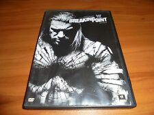 WWE: Breaking Point 2009 (DVD, 2009) WWF  Randy Orton vs John Cena Used