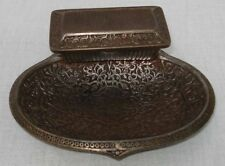 antique Cast Iron Match Striker Box Pyrogène