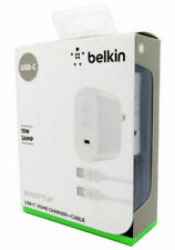 NEW Belkin USB-C Home Charger & USB-C Cable 15W 3Amp for Galaxy S9 S8 LG V30 G6