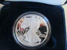 2010 W PROOF AMERICAN  SILVER EAGLE WITH COA AND BOX