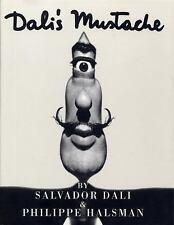 Dali's Mustache by Salvador Dalí Philippe Halsman 1996 Surrealist Artist Book