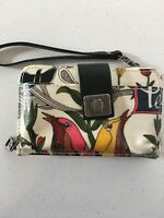 Smartphone Crossbody Wristlet Bag NWT sakroots Optic White Peace Large iPhone 8