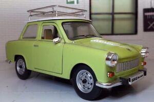 G LGB 1:24 Scala 1964 Trabant 601 Dettagliato Modellino Auto & Portapacchi 24217