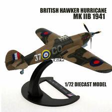 WWII BRITISH Hawker Hurricane MK IIB 1/72 diecast  plane model aircraft AVIONES