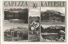 160894 BOLZANO NOVA LEVANTE WELSCHNOFEN - CAREZZA KARER - VEDUTINE - COSTUMI