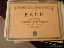 Bach, ed Widor & Schwietzer: 8 Little Preludes & Fugues, for Organ (Schirmer) #2