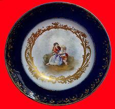 An Antique Sevres Deep Plate