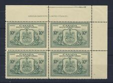 Canada Special Delivery stamp Plate Block No.1 E11 MNH VF Guide Value = $33.00
