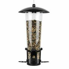 New listing Perky-Pet 333-1Sr Squirrel-Be-Gone Max Bird Feeder with Flexports – 3 Lb Black